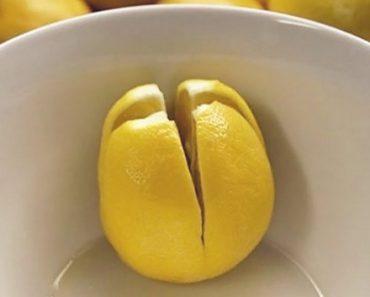 Leg een schijfje citroen naast je bed en dit is wat er gebeurt!
